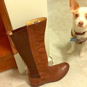 Frye Shoes - Frye Molly Tall Boots: Whiskey